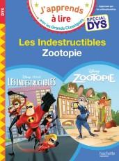 Disney - Zootopie / Les indestructibles Spécial DYS (dyslexie)