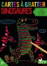 Cartes à gratter - dinosaures