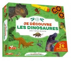 Je découvre les dinosaures - coffret avec lampe