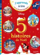 Disney - 5 histoires de Noël CP niveaux 1, 2, 3