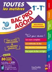 Objectif BAC PRO AGORA (1re et Term) - Toutes les matières - Nouveaux programmes BAC 2023