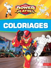 Power Players-Coloriages