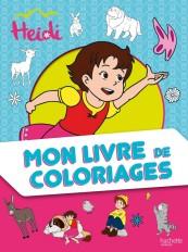 Heidi - Mon livre de coloriages