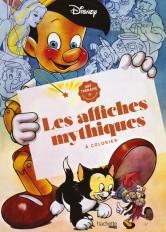 Grand bloc Disney Les affiches mythiques à colorier
