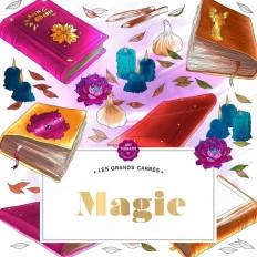 Grands carrés d'Art-thérapie Magie