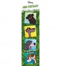 Marque-pages Disney mini-portraits