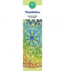 Marque-pages Art-thérapie Mandalas