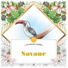 Les Grands carrés d'Art-thérapie Savane