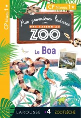 1ères lectures UNE SAISON AU ZOO - Le boa et Léo