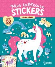 Mes tableaux stickers - Les licornes