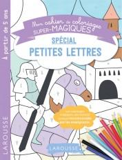 Cahier de coloriages magiques mes premières petites lettres
