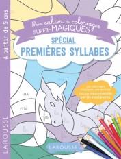 Coloriages magiques mes premières syllabes