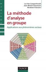 La méthode d'analyse en groupe - Applications aux phénomènes sociaux