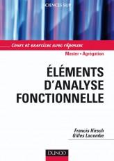 Éléments d'analyse fonctionnelle - Cours et exercices NP