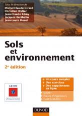 Sols et environnement - 2e édition - Cours, exercices et études de cas - Livre+compléments en ligne