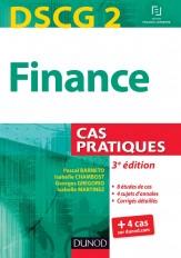 DSCG 2 - Finance - 3e édition - Cas pratiques