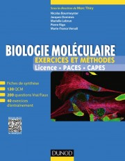 Biologie moléculaire - Exercices et méthodes