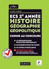 ECS 2e année - Histoire Géographie Géopolitique - Comme au concours !