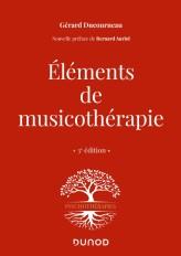 Éléments de musicothérapie - 3 éd.