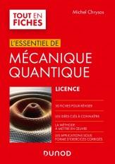 Mécanique quantique - L'essentiel en fiches