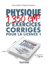 Physique - 1350 cm3 d'exercices corrigés pour la Licence 1