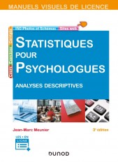 Manuel visuel de statistiques pour psychologues - 3ed - Analyses descriptives