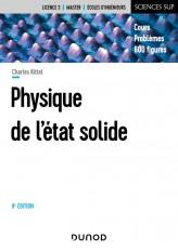 Physique de l'état solide - 8e éd. - Cours et problèmes