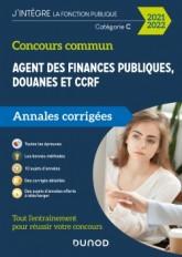 Concours Commun Agent des Finances Publiques Douanes et CCRF - Annales corrigées - Concours 2020-21