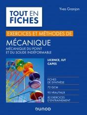 Mécanique - Exercices et méthodes - Licence, IUT, Capes