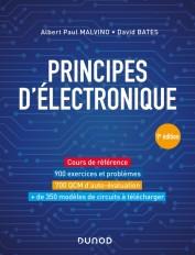 Principes d'électronique - 9e éd. - Cours et exercices corrigés