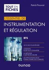 Instrumentation et régulation BTS - En 30 fiches