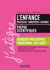 L'enfance - Prépas scientifiques Français-Philosophie - 2021-2022
