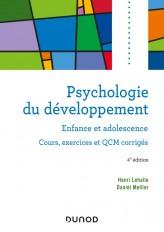 Psychologie du développement - 4e éd. - Enfance et adolescence