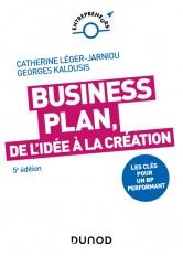 Business Plan, de l'idée à la création - 5e éd.