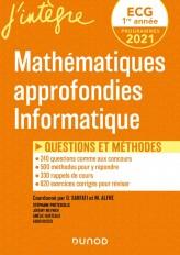 ECG 1 - Mathématiques approfondies, Informatique - Questions et méthodes
