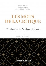 Les mots de la critique - 4e éd. - Vocabulaire de l'analyse littéraire