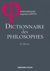 Dictionnaire des philosophes - 4ed.
