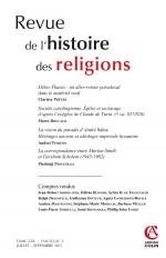 Revue de l'histoire des religions - Tome 228 (3/2011)