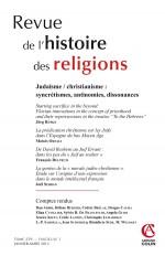 Revue de l'histoire des religions - Tome 229 (1/2012)