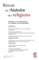 Revue de l'histoire des religions - Tome 229 (2/2012)