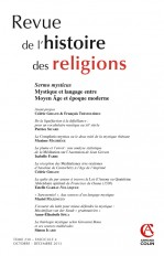 Revue de l'histoire des religions - Tome 230 (4/2013)