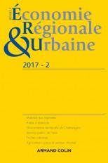 Revue d'économie régionale et urbaine n° 2/2017 Varia