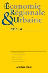 Revue d'économie régionale et urbaine n° 4/2017 Varia