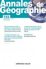 Annales de géographie - N°722 4/2018 Varia