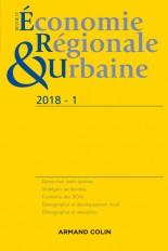 Revue d'économie régionale et urbaine n° 1/2018 Varia