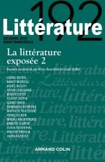 Littérature n° 192 (4/2018) La littérature exposée 2