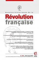 Annales historiques de la Révolution française Nº396 2/2019 Varia