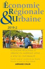Revue d'économie régionale et urbaine n° 2/2019 Économie régionale et urbaine en Amérique latine : l