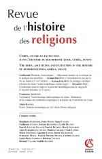 Revue de l'histoire des religions - Nº1/2019 Corps, ascèse et extinction dans l'histoire du bouddhis