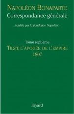 Correspondance générale, Tome VII